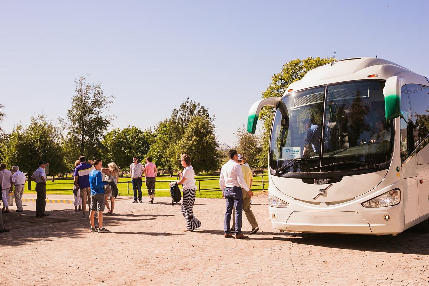 buses de turismo en Santiago